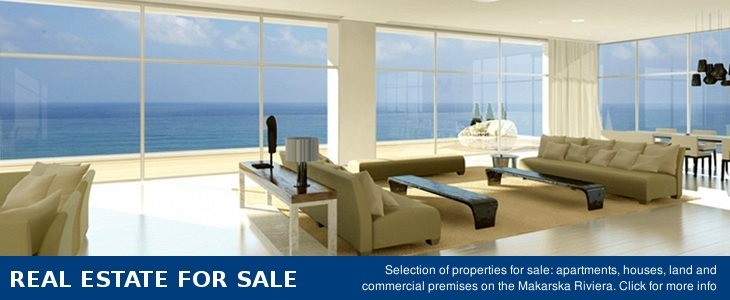 Real estate for sale, Makarska riviera